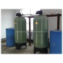 Amortisseur d'eau de résine d'échange automatique pour le traitement de l'eau