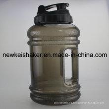 Gimnasio 2.2L Tritan de la botella de agua del plástico / PETG Joyshaker de la venta 2.2L