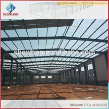 hangars en acier préfabriqués en béton en ciment de grande étendue à vendre