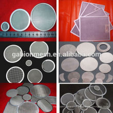 Cheap stainless steel filter piece/plain weave stainless steel filters in Anping