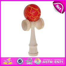 New Fashion Wholesale Kendama Toy, Best Wooden Kendama Ball, Kendama for Wholesale, Wooden Kendama Toy with 18*7*6 Cm W01A042