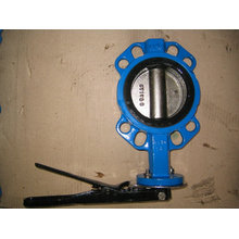 One Shaft Without Pin Butterfly Valve