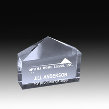 Wholesale rectangle  crystal paperweight