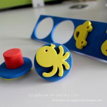 Sellos de mano ajustable de la espuma de EVA para bricolaje/Scrapbooking