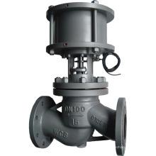 válvula de control del globo del actuador neumático de alta calidad con precio bajo
