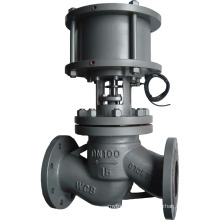 high quality pneumatic actuator globe control valve with low price