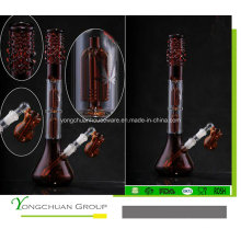 Boa vidraça de vidro boa qualidade de fumar vidro shisha 602