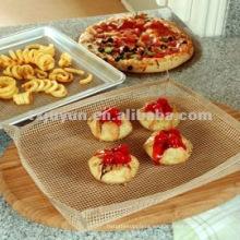PTFE Malla de horno antiadherente / Revestimiento de pizza / Hoja de rejilla