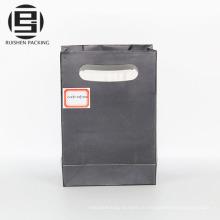 Черный вырубной ручкой упаковка бумажные мешки партии