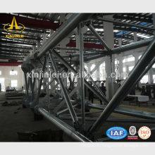Structure tubulaire en acier à énergie électrique