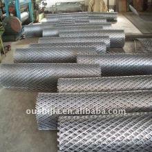 Maillage métallique très fin et fini (usine)