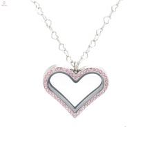 2018 nova memória corrente de aço inoxidável medalhão para fazer jóias colar