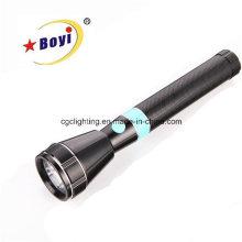 Linterna de aluminio 3W CREE LED recargable
