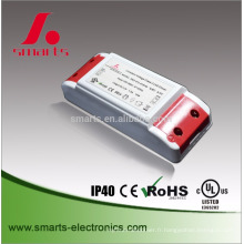 110v ac à 36v cc led transformateur 20 watt avec UL approuvé