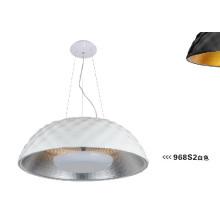 Contemporânea branco resina pingente luzes (968S2)