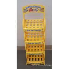 Напудренные Желтым Цветом Изготовленный На Заказ Разнослоистый Легкой Закускы Магазин Хлопок Конфеты Шоколад Коробка Дисплея