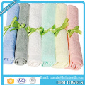 Baby Washcloths (set of 6) 100% Organic Bamboo Bath Towels for Baby 10 x 10 inch