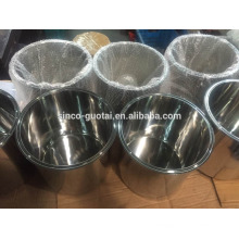 304 316 welded base sanitary spool
