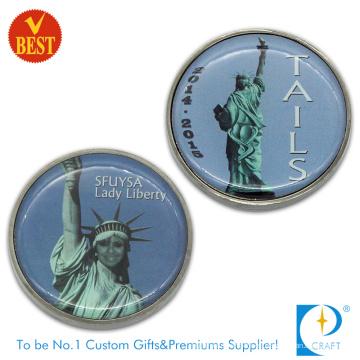 Suministro de moneda personalizada de la libertad de recuerdo (KD-205)