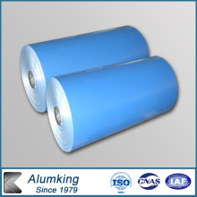 1100 Deep Blue Color Cdated Aluminum Coil