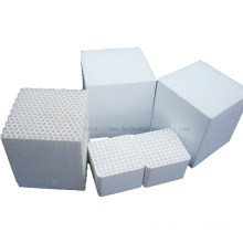 Industrial Exhaust Gas Purification, Sic / Cordierite Honeycomb Ceramic Substrate Ceramic Carrier