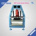 20T Jack FJXHB5-N1 Hydraulic and Pneumatic Rosin Heat Press for sale