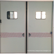 Silver Gray Automatic Airtight Door