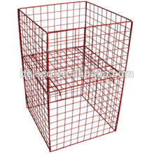 High quality wire mesh containers/ wire cage panels /welded wire mesh panel