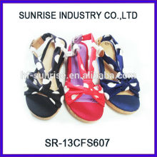 SR-13CFS607 2014 flat sandal shoe Latest Fashion summer sandal for girls wholesale Kids sandals for girls