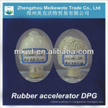 accélérateur de produits chimiques de liste DPG (D) pour la distribution de vulcanisation de caoutchouc disponible
