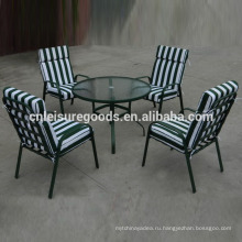 Uplion стали Таблица 5 шт набор открытый мебель стул пояса