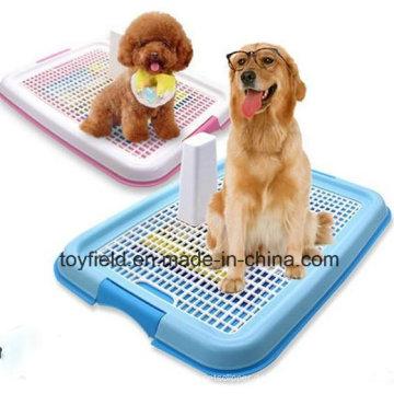 Haustier Toilette Plastik Portable Toilette Hund Töpfchen