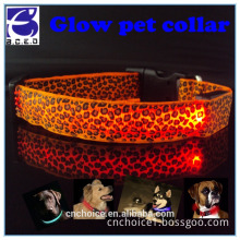"wholesale pet premium products colorful harness 25"" led dog collar"