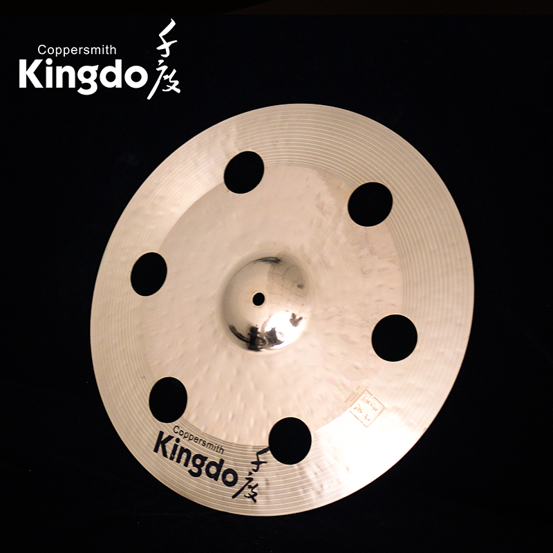 Drum Set Cymbals With Holes