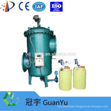 steel cartridge automatic backwash filter