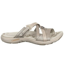 Perfect Day Vollnarbenleder Slide Style Sandalen
