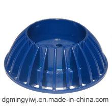 Piezas de aluminio fundido a troquel de aluminio con apariencia azul y buenas ventas hechas en fábrica china