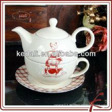 Neues Design Keramik Teetasse Topf in einem