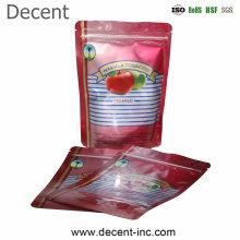 High Quality Custom Food Grade Plastic Bags Vacuum Printed Zip Lock Aluminum Foil Bag for Food with Logo