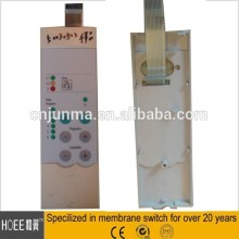 China TOP quality Custom tactile feedback membrane switch keypad with plastic case