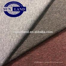 look chiné coton polyester spandex tissu éponge français