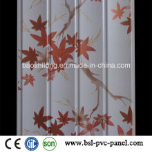 Indien Hotselling Laminated PVC Wand Panel Wave Panel