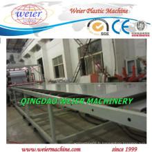 Ligne de machine d'extrudeuse de feuille en plastique PP PE avec CE