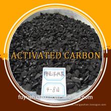 Precio de carbono activado de Shell granular de coco de malla 8 * 30