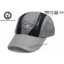De alta calidad de secado rápido de poliéster de microfibra Golf Hat Sports Cap