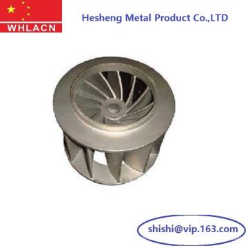 Turbine de moulage de précision en acier inoxydable (pièces d'usinage)