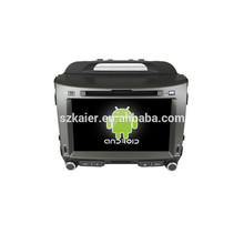 Четырехъядерный чистый Android 4.4 автомобильный DVD GPS-навигация,Bluetooth,зеркало-литой,видео,видеорегистратор,игры,двойной зоны,swc для Киа СПОРТЕЙДЖ Р