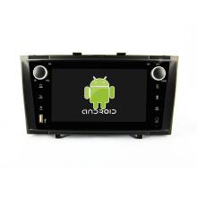 Núcleo Octa! Android 8.1 carro dvd para Avensis 2010-2014 com 7 polegadas tela capacitiva / GPS / Link Mirror / DVR / TPMS / OBD2 / WIFI / 4G