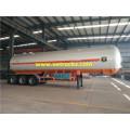 56000 Liters Tri-axle LPG Tanker Trailers