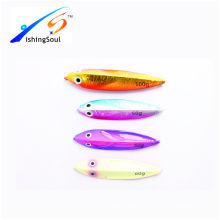 MJL063 Populaire appât de pêche lente pas jigging leurre pêche appât leurre métal gabarit